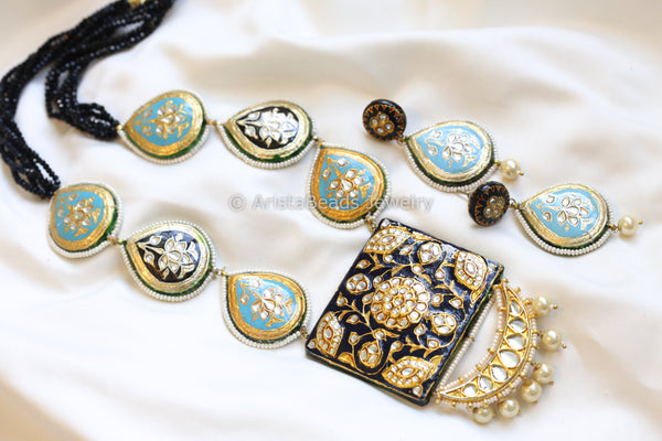 Contemporary Jadau Kundan Necklace