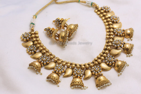 Jhumka  Necklace Set
