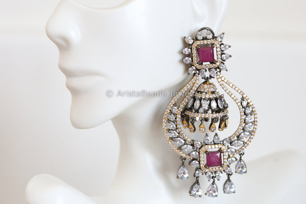Contemporary Layered Jhumka