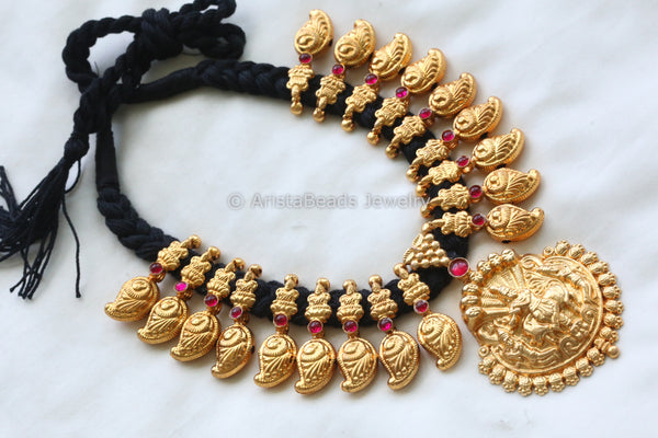 Shri Krishna Temple Necklace