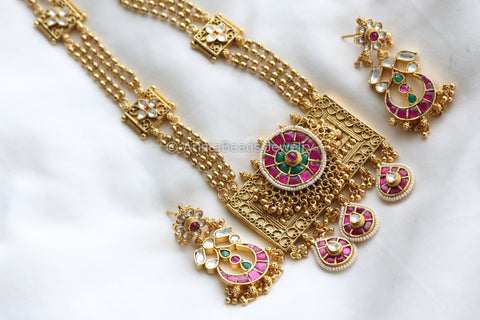 Jadau Jadtar Kundan Necklace