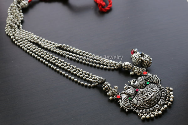 Lakshmi Long Haram Necklace