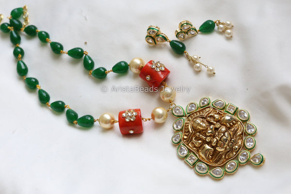 Kundan Lakshmi Necklace