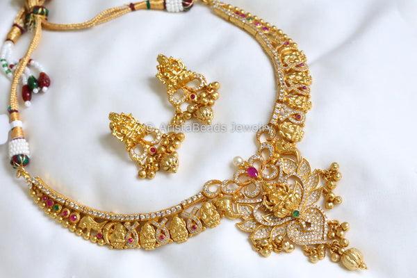 Gram Gold Lakshmi Necklace