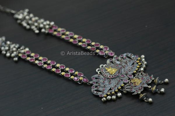 Lotus Ghungroo Necklace