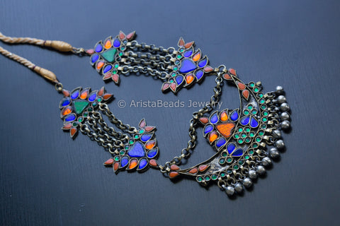 Vintage Look Afghani Heirloom Necklace