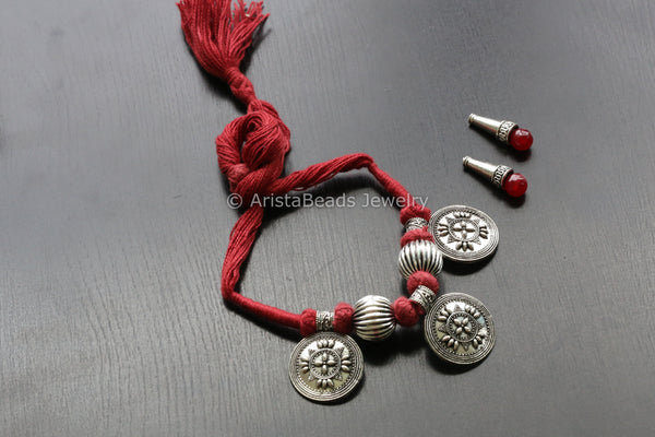 Indian Tribal Silver necklace