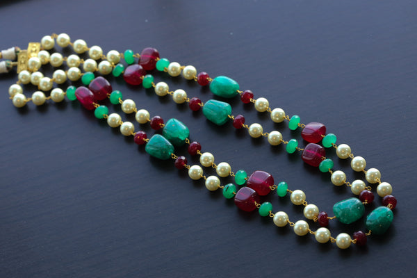 2 Layer Mala Necklace
