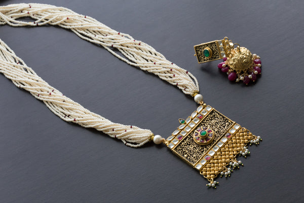 Jadau Kundan Necklace