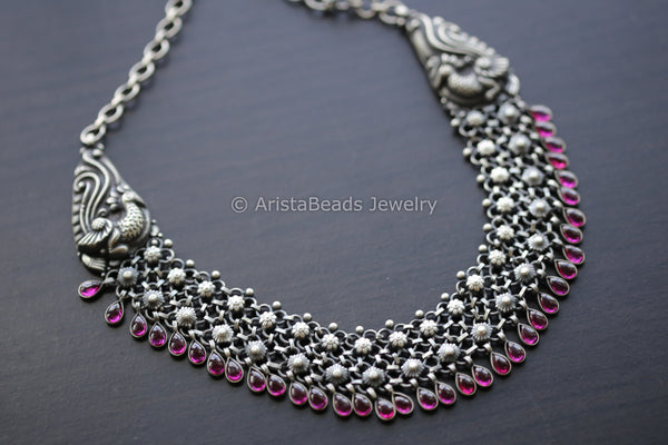 925 Sterling Silver Kemp Necklace