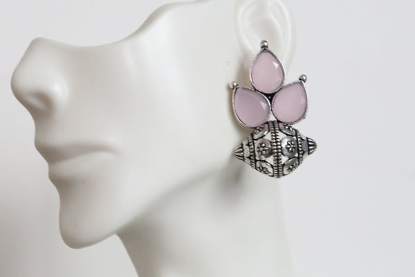 Cute Pink Stud Earrings