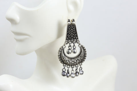 Silver Look A Like Earrings