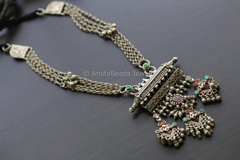 Vintage Jaipur Silver Necklace