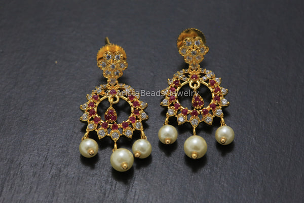 Delicate Small Chandbaali