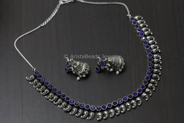 Cute Blue Necklace