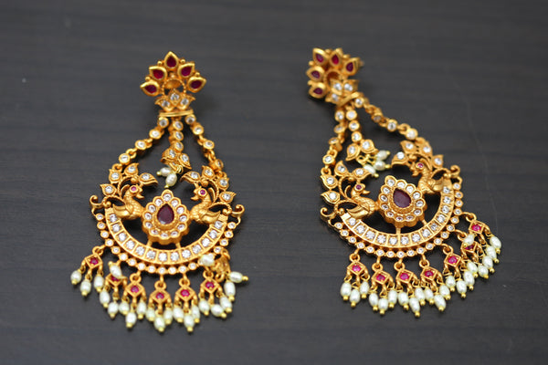 Gram Gold Polki Earrings