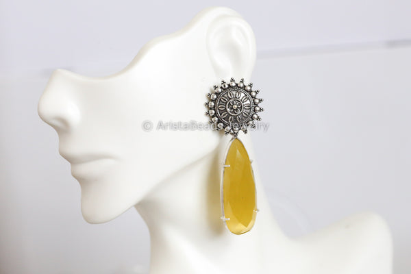 Candy Yellow Earrings