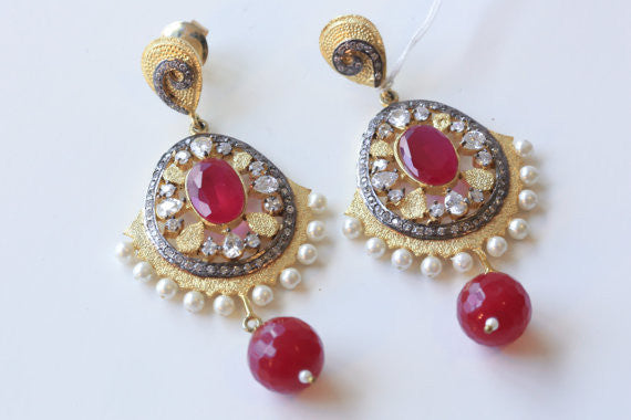 Designer turkish filigree earrings - AristaBeads Jewelry - 4