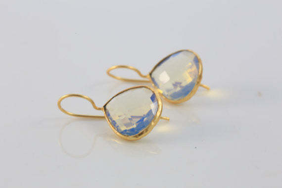 Rainbow Opalite Earrings - AristaBeads Jewelry - 3