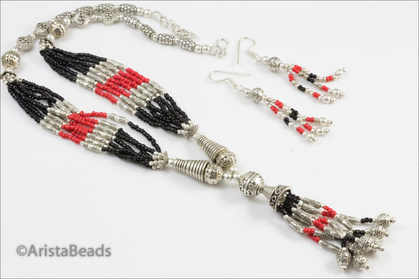 On sale > Unique Statement Necklace - AristaBeads Jewelry - 1