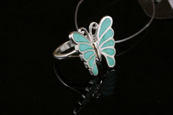 Unique Turquoise Ring in 925  Sterling Silver - AristaBeads Jewelry  - 2