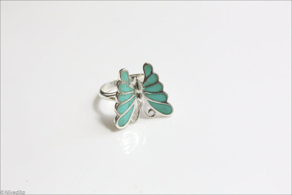 Unique Turquoise Ring in 925  Sterling Silver - AristaBeads Jewelry  - 4