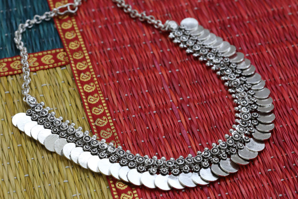 Unique one of kind Tribal coin necklace - AristaBeads Jewelry  - 2