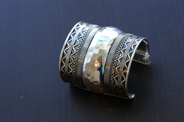 Adjustable Wide Cuff Bracelet