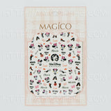 magico nail art sticker 32-51 NEW! #049 #050 #051