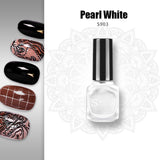SweetColor® Stamping Nail Polish Lacquer - 9 colors