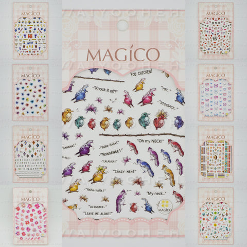 magico nail art sticker