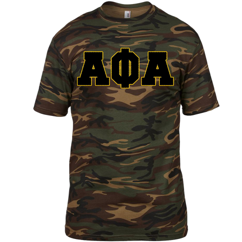 Alpha Phi Alpha Camouflage T-Shirt