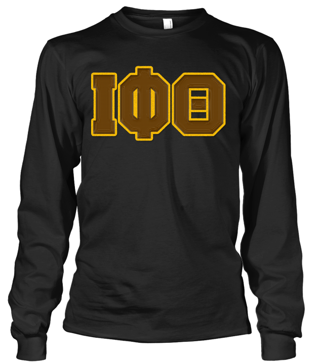 Iota Phi Theta Greek Letter Long Sleeve – Letters Greek Apparel