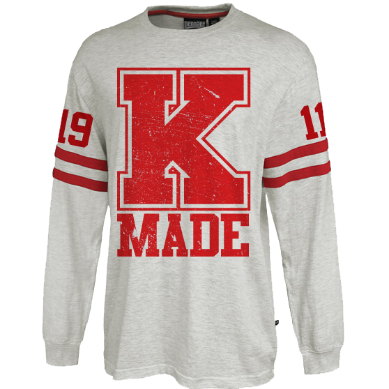 Kappa Alpha Psi Vintage Stripe Jersey - Letters Greek Apparel-Black Greek Paraphernalia-Divine Nine Apparel