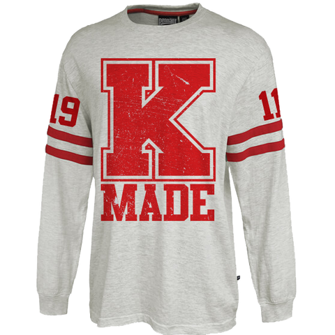 Kappa Alpha Psi Vintage Stripe Jersey - Letters Greek Apparel - Black Greek Paraphernalia - Divine Nine Greek Apparel
