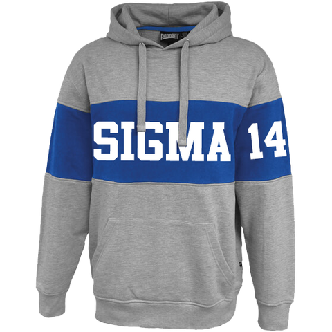 Phi Beta Sigma Cross Chest Hoodie - Letters Greek Apparel - Black Greek Paraphernalia - Divine Nine Greek Apparel