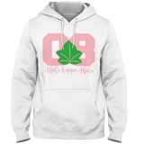 Alpha Kappa Alpha Founded Hoodie - Letters Greek Apparel - Black Greek Paraphernalia - Divine Nine Greek Apparel