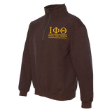 Iota Phi Theta Embroidered Quarter-Zip Sweatshirt
