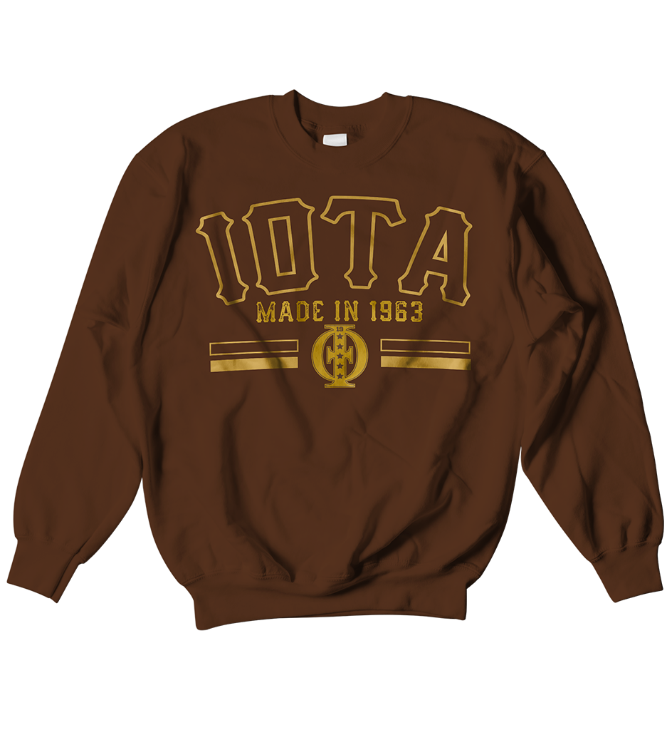 Iota Phi Theta School Daze Raglan - Letters Greek Apparel-Black Greek Paraphernalia-Divine Nine Apparel