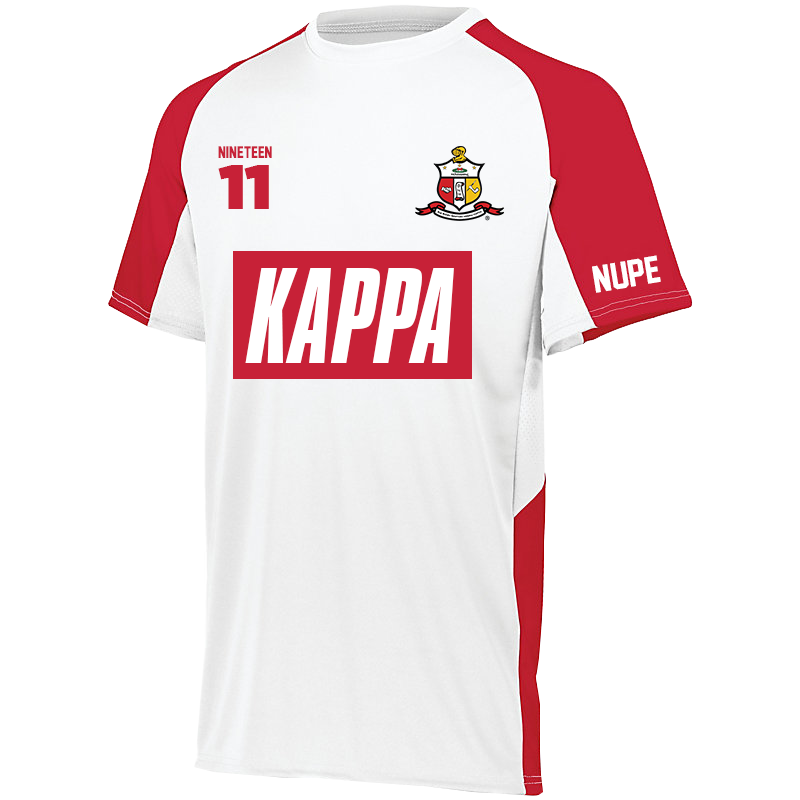 Greek Letter Before Kappa.Kappa Alpha Psi Home Soccer Jersey