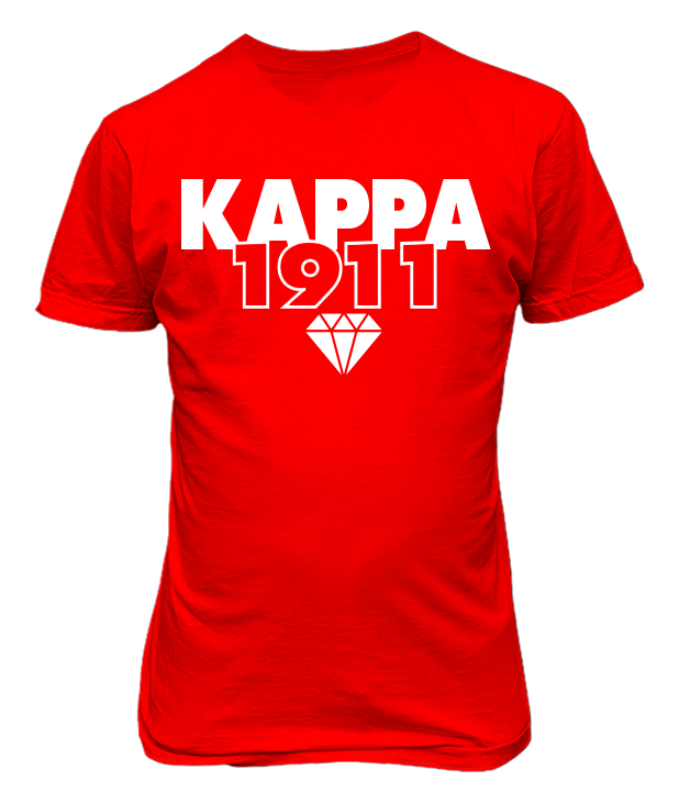 Kappa Alpha Psi 1911 Founding Year T-Shirt - Letters Greek Apparel - Black Greek Paraphernalia - Divine Nine Greek Apparel