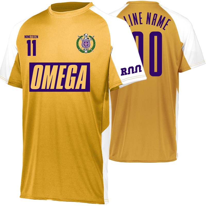 ae3b0e808 Omega Psi Phi Home Soccer Jersey - Customize Yours Today – Letters Greek  Apparel