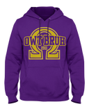 Omega Psi Phi Owt Bruh Hoodie - Letters Greek Apparel - Black Greek Paraphernalia - Divine Nine Greek Apparel