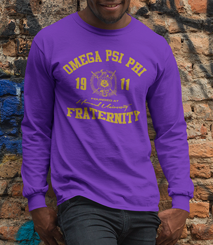 Omega Psi Phi Roots Long Sleeve T-Shirt