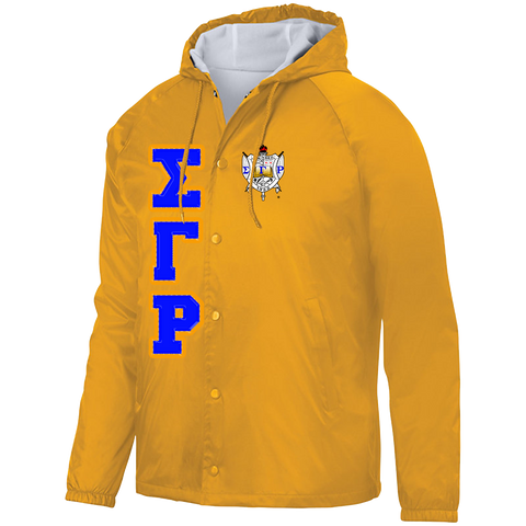Sigma Gamma Rho Hooded Crossing Jacket