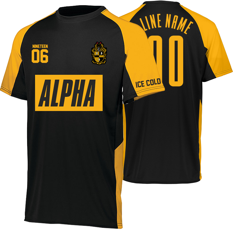 more photos d6407 b3c1f black and gold soccer jersey