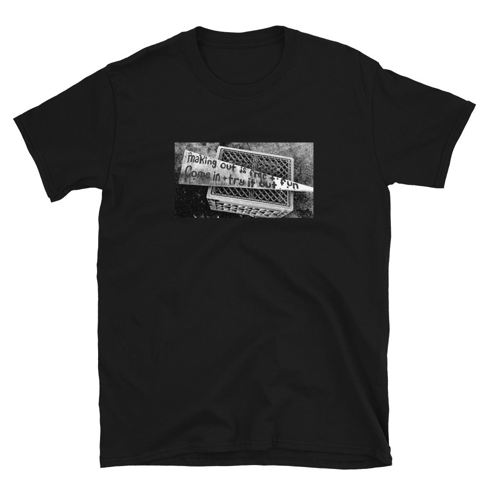 """Make Out"" Short Sleeve - Black"