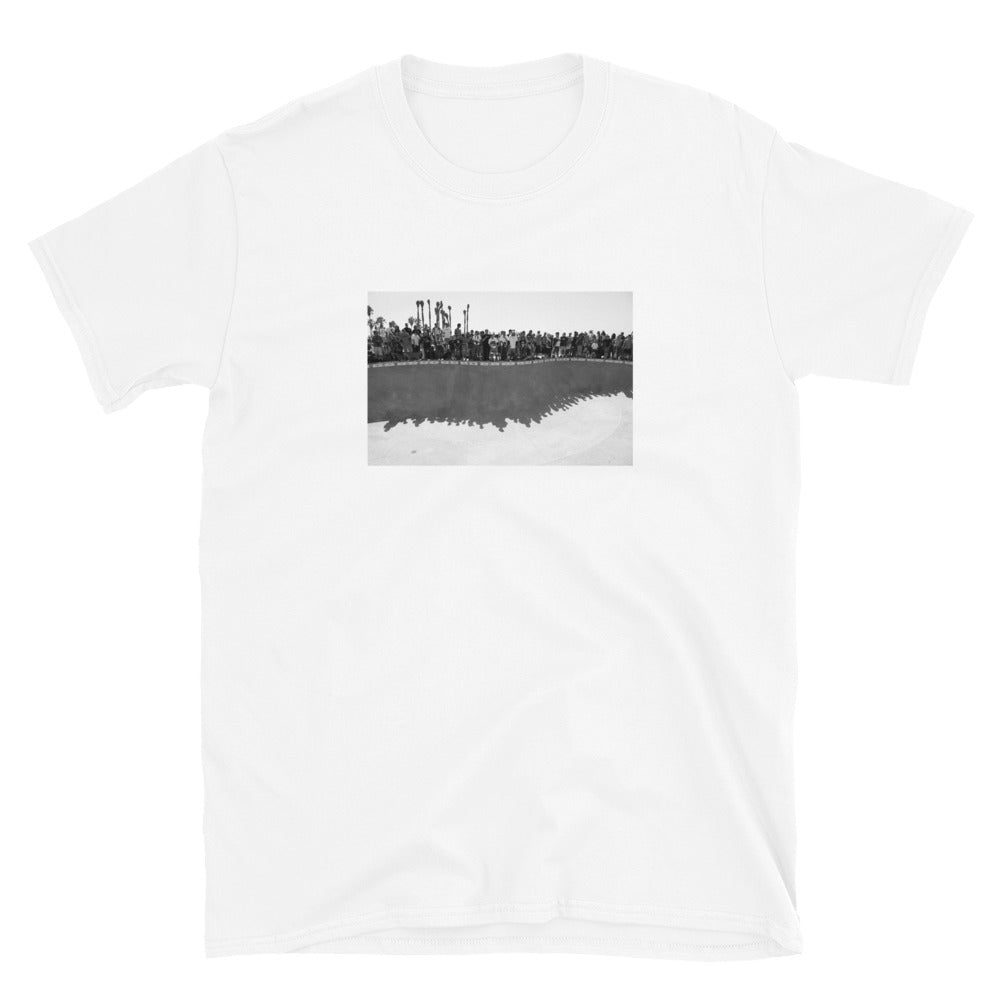 """Skate Park 09"" Short Sleeve - White"