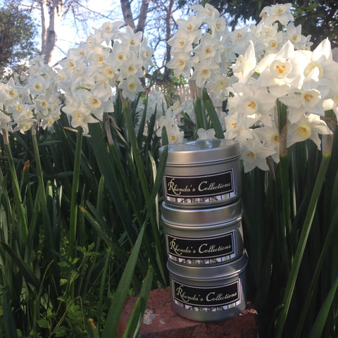 Tasmanian Hand Poured Lemon Zest Soy Wax Candle In Tin