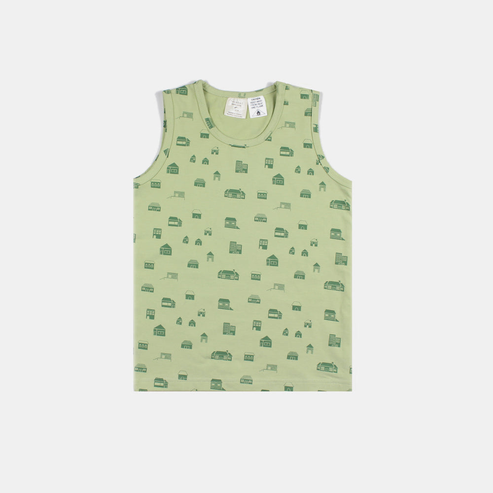 Kids Pj Singlet - Housie